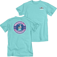 Blue 84 Over Dyed Short Sleeve Tee