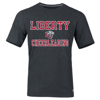 Russell Liberty Flames Cheerleading T-Shirt