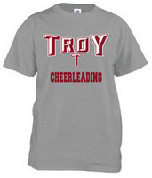 Troy University Russell Cheerleading T-Shirt