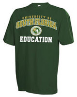South Florida Bulls Russell Education TShirt