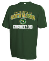 South Florida Bulls Russell Engineering TShirt