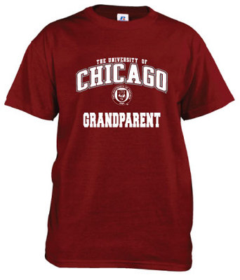 University of Chicago Russell Grandparent T-Shirt