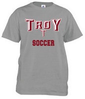 Troy University Russell Soccer T-Shirt