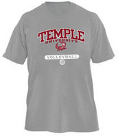 Temple Russell Volleyball T-Shirt