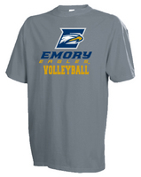 Emory Eagles Russell Volleyball T-Shirt
