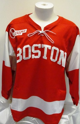 Boston Terriers Bauer Replica Hockey Away Jersey