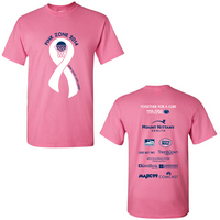 Penn State Lady Lions Pink Zone Tee Shirt