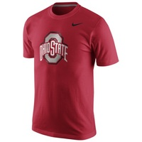 Nike College Logo Cotton Tee