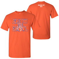 Grow the Growl Orange Out 2017 TShirt