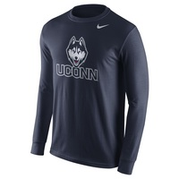 Nike College Cotton Long Sleeve Logo
