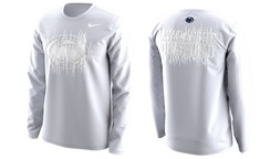 Nike Official Penn State White Out Long Sleeve Tee 2017
