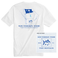 Southern Tide Gameday State Flags T Shirt