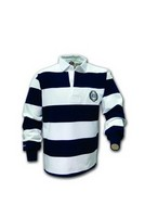 Yale Bulldogs Barbarian Striped Rugby Shirt