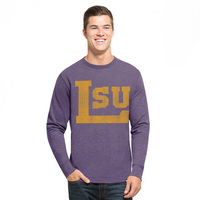 LSU Tigers Banner 47 Long Sleeve T-Shirt
