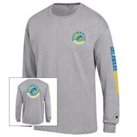 Delaware Blue Hens Champion Long Sleeve Jersey TShirt