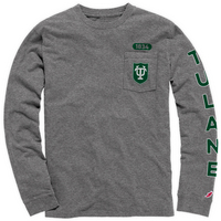 League Vintage Wash Long Sleeve Pocket Tee