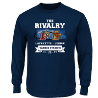 Lehigh VS LAF Rivalry C Long Sleeve Tee
