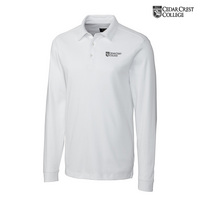 CUTTER AND BUCK BELFAIR LONG SLEEVE POLO(ONLINE ONLY)
