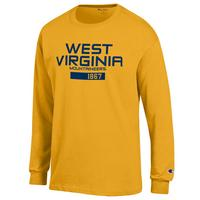 WVU Mountaineers Champion Long Sleeve T-Shirt