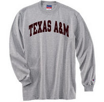 Texas A&M Aggies Champion Long Sleeve T-Shirt