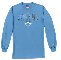 Columbia University Champion Long Sleeve TShirt