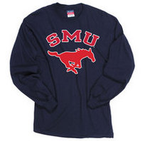 SMU Mustangs Champion Long Sleeve T-Shirt