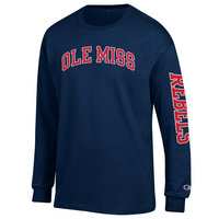 Ole Miss Champion Long Sleeve T-Shirt