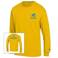 Delaware Blue Hens Champion Long Sleeve TShirt