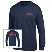 Texas Tech Red Raiders Champion Long Sleeve Jersey TShirt