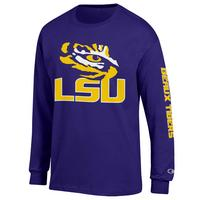 LSU Tigers Champion Long Sleeve TShirt
