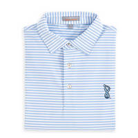 Peter Millar UNC Lineberger Cancer Center Competition Stripe Polo