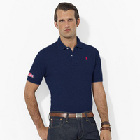 Ole Miss Polo/Ralph Lauren Pique Polo