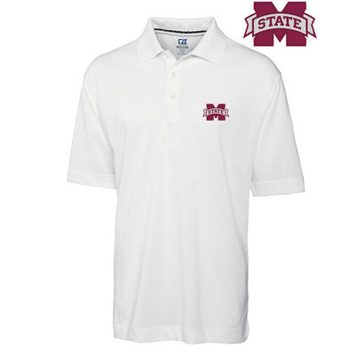 Mississippi State Bulldogs Cutter & Buck Drytec Championship Polo