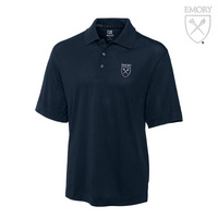 Emory Eagles Cutter & Buck Drytec Pique Polo