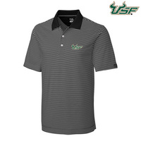 CUTTER AND BUCK DRYTEC TREVOR STRIPE POLO (ONLINE ONLY)
