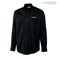 Cutter & Buck Long Sleeve Epic Easy Care Nailshead Woven