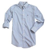 Peter Millar Nanoluxe Twill Tattersall Shirt