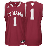 adidas Indiana University #1 Basketball Jersey