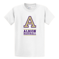 Albion College Baseball Short Sleeve Tee