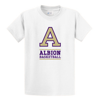 Albion College Basketball Short Sleeve Tee