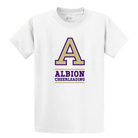 Albion College Cheerleading Short Sleeve Tee