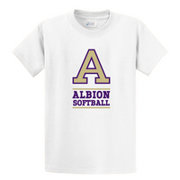Albion College Softball Short Sleeve Tee