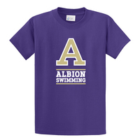 Albion College Swimming Short Sleeve Tee