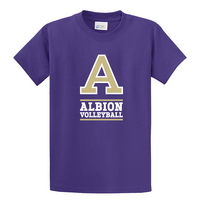 Albion College Volleyball Short Sleeve Tee