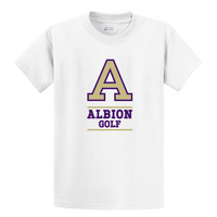 Albion College Golf Short Sleeve Tee