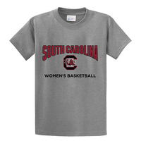 South Carolina Gamecocks Womens Basketball Short Sleeve  Tee