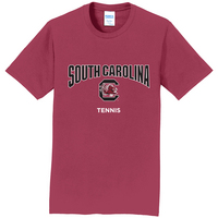 South Carolina Gamecocks Tennis Short Sleeve Tee