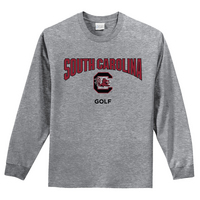 South Carolina Gamecocks Golf Long Sleeve Tee