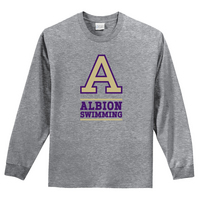 Albion College Swimming Long Sleeve Tee