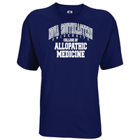Russell Athletic Mens Cotton Allopathic Medicine Tee